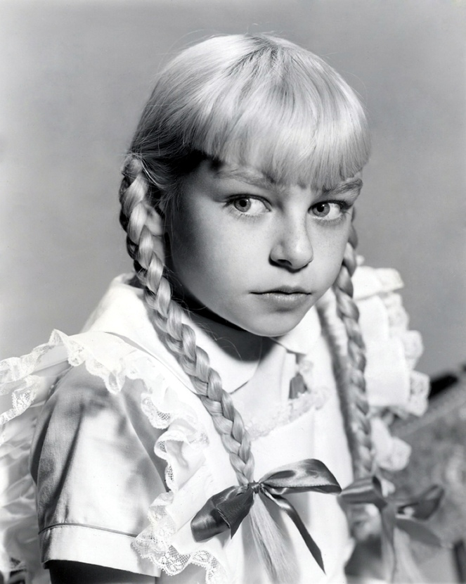 Patty McCormack as Rhoda Penmark - The Bad Seed 1956 - by Bert Six